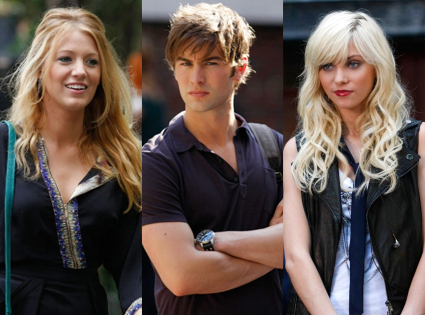 Blake Lively, Chace Crawford, Taylor Momsen, Gossip Girl
