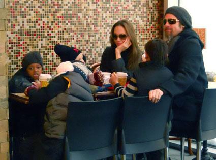 Maddox Jolie-Pitt, Brad Pitt, Angelina Jolie