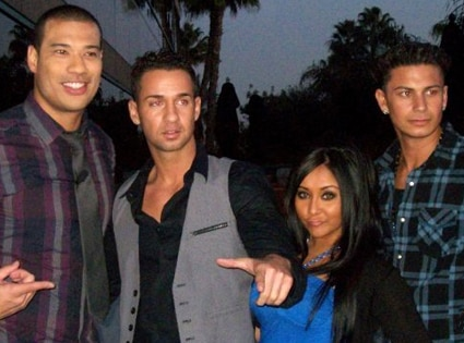 Mike 'The Situation' Sorrentino, Nicole 'SNOOKI' Polizzi, Pauly ' Pauly D' Delvecchio, Michael Yo
