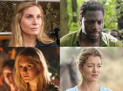 Lost, Cynthia Watros, Adewale Akinnuoye-Agbaje, Elizabeth Mitchell, Maggie Grace