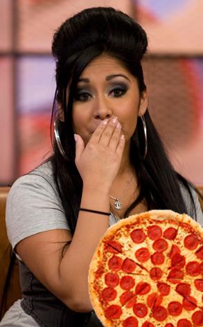 Snooki, Pizza