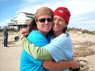 Rosie O'Donnell, Tracy Kachtick-Anders