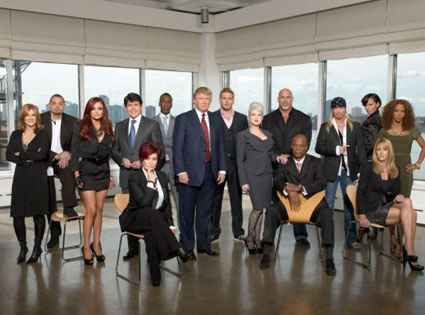 THE CELEBRITY APPRENTICE , Carol Leifer, Sinbad, Maria Kanellis, Sharon Osbourne, Rod Blagojevich, Michael Johnson, Donald Trump, Curtis Stone, Cyndi Lauper, Goldberg, Daryl Strawberry, Brett Michaels, Selita Ebanks, Summer Sanders, Holly Robinson Peete