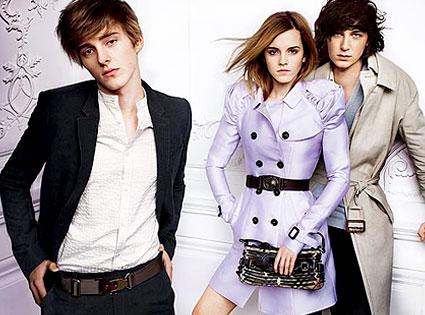 Emma Watson, Alex Watson, Burberry Ad