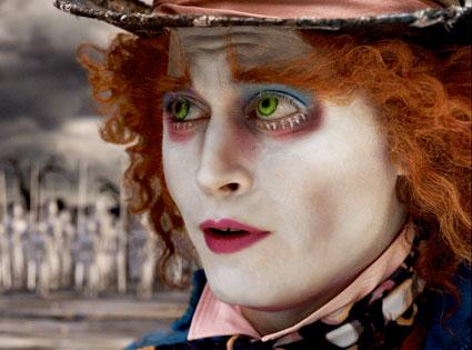 Alice In Wonderland, Johnny Depp