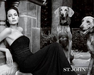 Angelina Jolie, St John Ad