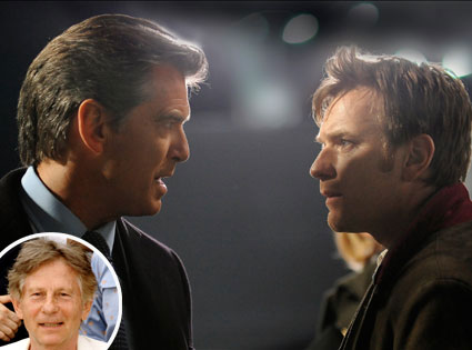 Ghost Writer, Pierce Brosnan, Ewan McGregor