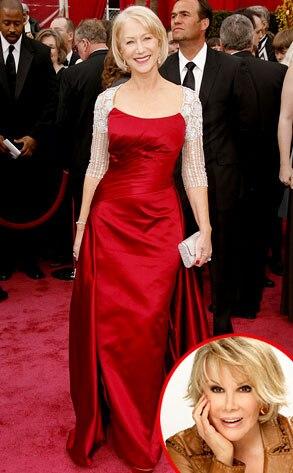 Helen Mirren, Joan Rivers