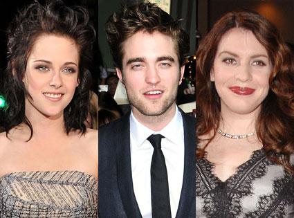 Kristen Stewart, Robert Pattinson, Stephanie Meyer