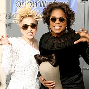 Lady Gaga, Oprah Winfrey
