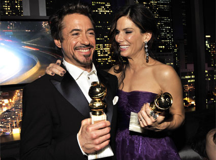 Robert Downey Jr., Sandra Bullock