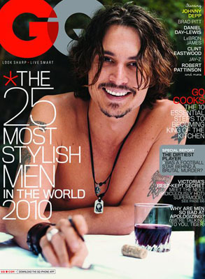 Johnny Depp, GQ
