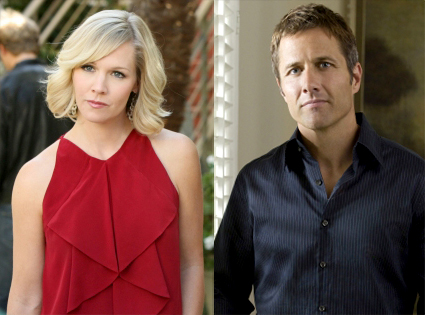 Jennie Garth, Rob Estes, 90210