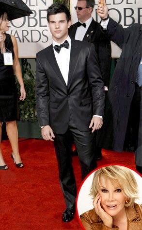 Taylor Lautner, Joan Rivers