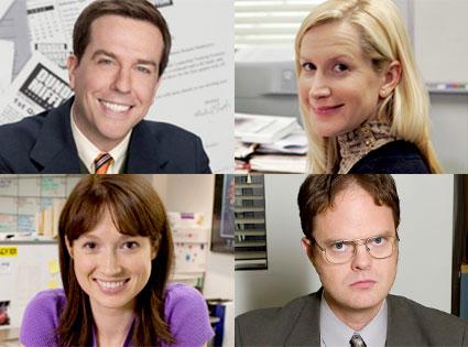 The Office, Ed Helms, Angela Kinsey, Ellie Kemper, Rainn Wilson