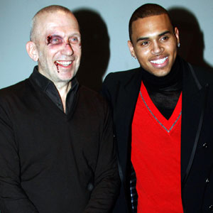 Jean Paul Gaultier, Chris Brown
