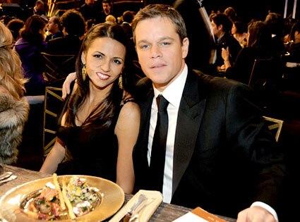 Luciana Baroso, Matt Damon