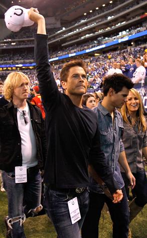 Robe Lowe, Taylor Lautner
