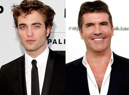 Robert Pattinson, Simon Cowell