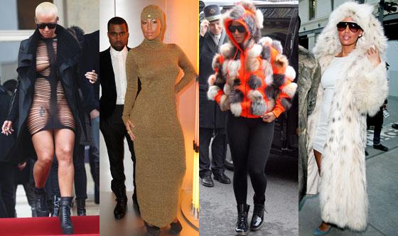 Amber Rose, Kanye West
