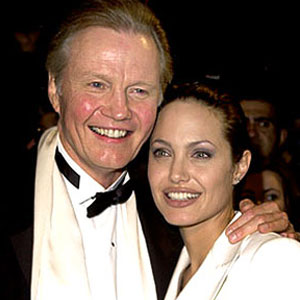 Jon Voight, Angelina Jolie