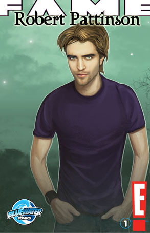 Robert Pattinson, Blue Water Comics