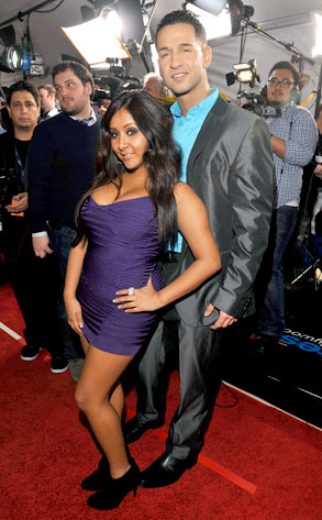 "Mike ""The Situation"" Sorrentino, Nicole ""Snooki"" Polizzi"