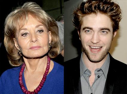 Barbara Walters, Robert Pattinson