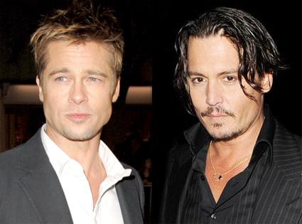 Brad Pitt, Johnny Depp