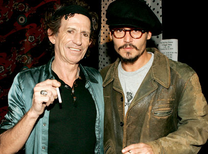 Keith Richards, Johnny Depp