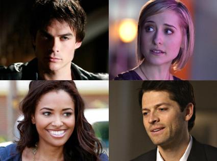 Ian Somerhalder, The Vampire Diaries, Allison Mack, Smallville, Katerina Graham, The Vampire Diaries, Misha Collins, Supernatural,