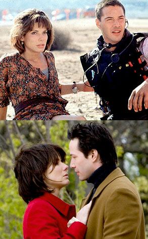Sandra Bullock, Keanu Reeves, Speed, The Lake House