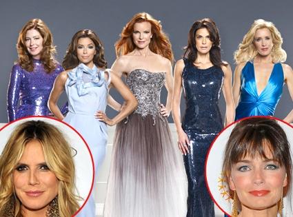 Desperate Housewives, Heidi Klum, Paulina Porizkova