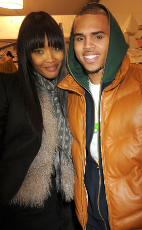 Naomi Campbell, Chris Brown