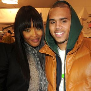Naomi Campbell, Chris Brown
