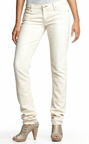 Banana Republic Slouchy Skinny Natural Jean
