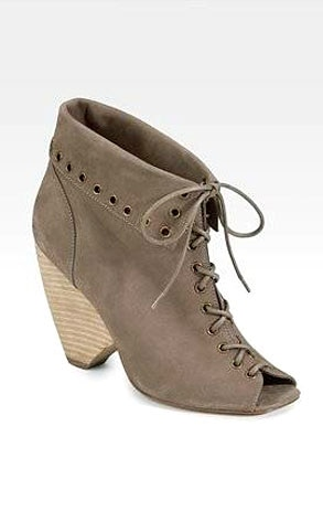Marc by Marc Jacobs Lace-Up Wedge Ankle Boots