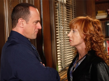 Chris Meloni, Kathy Griffin, Law and Order SVU