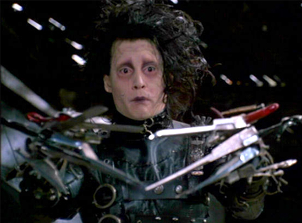 Johnny Depp, Edward Scissorhands
