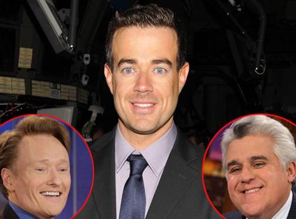 Carson Daly, Conan O'Brien, Jay Leno