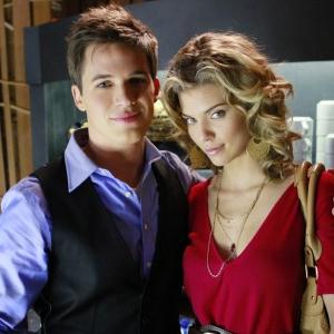 AnnaLynne McCord, Matt Lanter, 90210