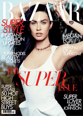 Megan Fox, Harper's Bazaar, UK Cover