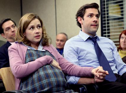 Jenna Fischer, John Krasinski, The Office