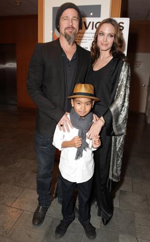 Brad Pitt, Angelina Jolie, Maddox