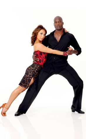 Cheryl Burke, Chad Ochocinco, Dancing with the Stars