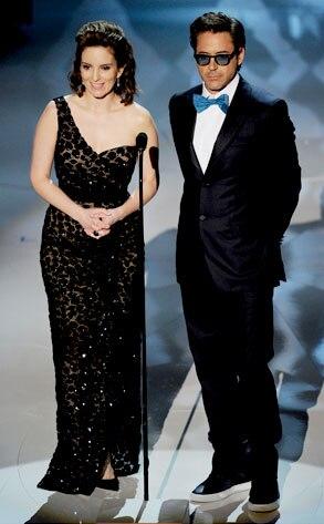 Tina Fey, Robert Downey Jr.