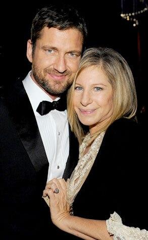 Gerard Butler, Barbra Streisand