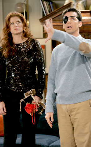 Sean Hayes, Debra Messing, Will and Grace