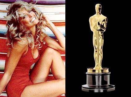Farrah Fawcett, Oscar Statuette