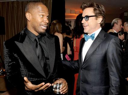 Jamie Foxx, Robert Downey Jr.